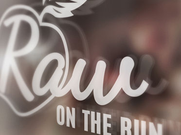 Raw on The Run Logo