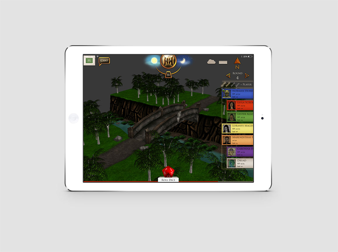 Hazzah iPad Pathfinder Game 3