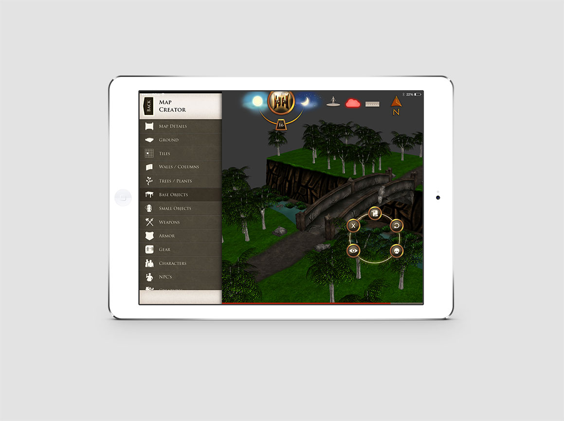 Hazzah iPad Pathfinder Game 4