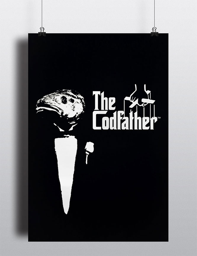 The Codfather Movie Poster Spoof