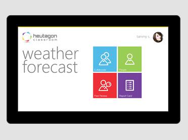 Heutagon Windows Tablet App