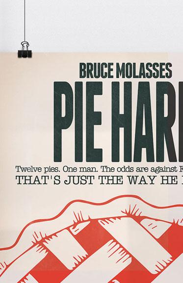 Pie Hard Movie Poster Spoof