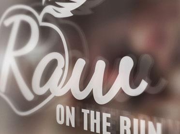 Raw on The Run Logo