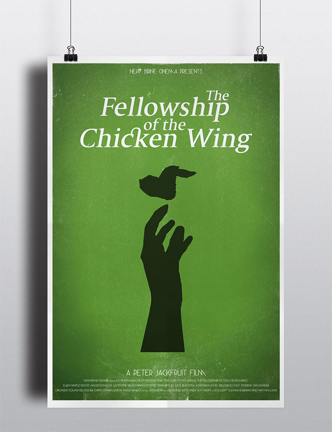 Fellowship Movie Poster Spoof