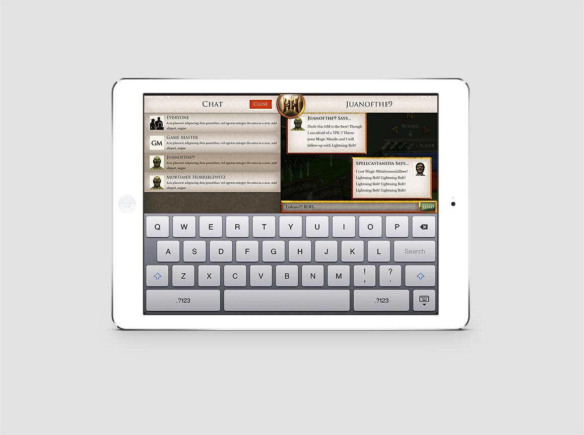 Hazzah iPad Pathfinder Game 2