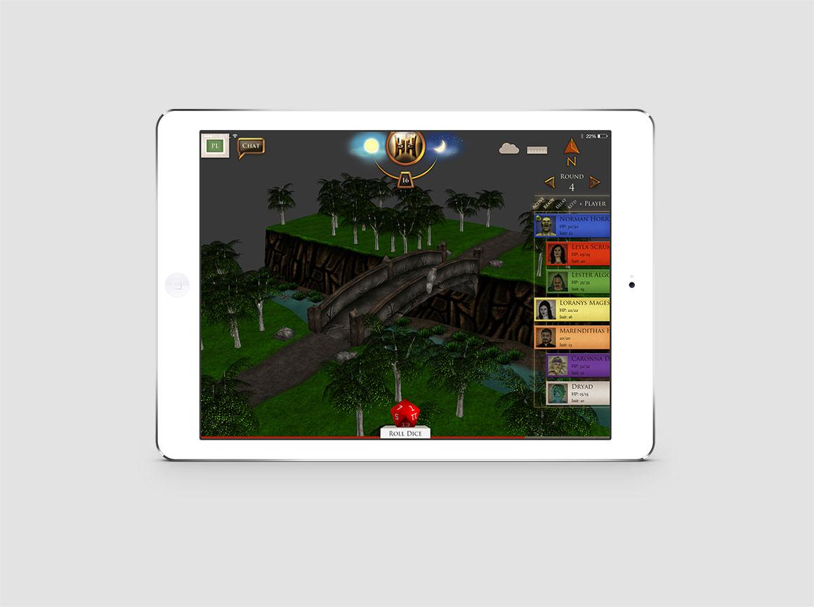 Hazzah iPad Pathfinder Game 3