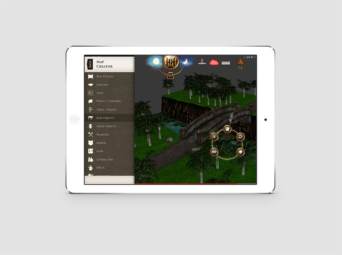 Hazzah iPad Pathfinder Game 4