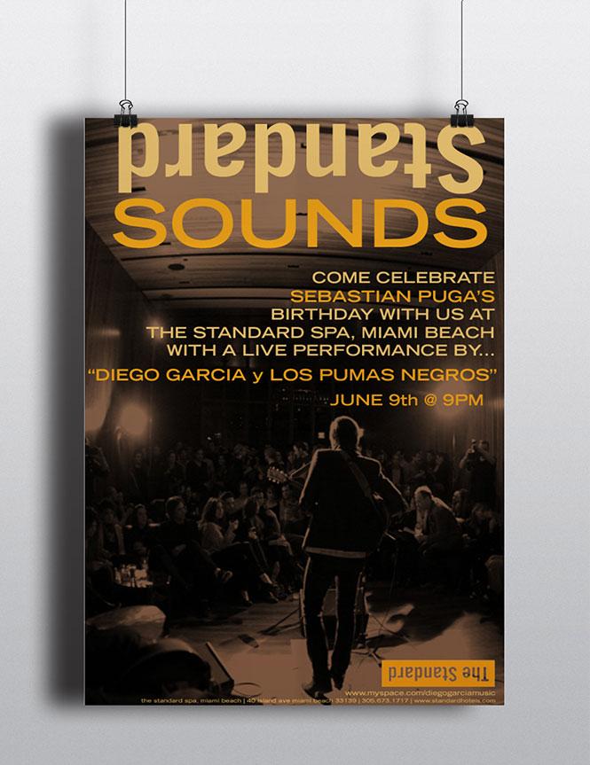 Standard Sounds Flyer